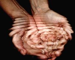 Wasser Hand